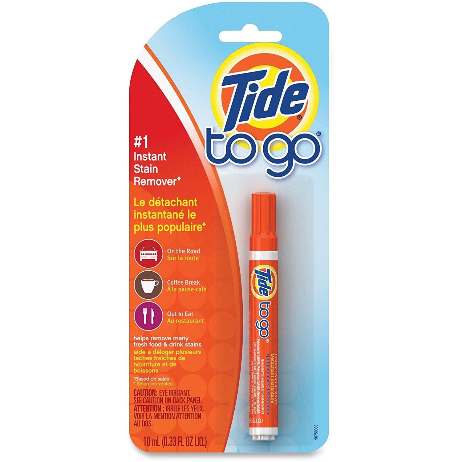 Amazon.com: Tide 01870 To Go Stain Remover Pen, 0.338 oz Pen: Kitchen & Dining