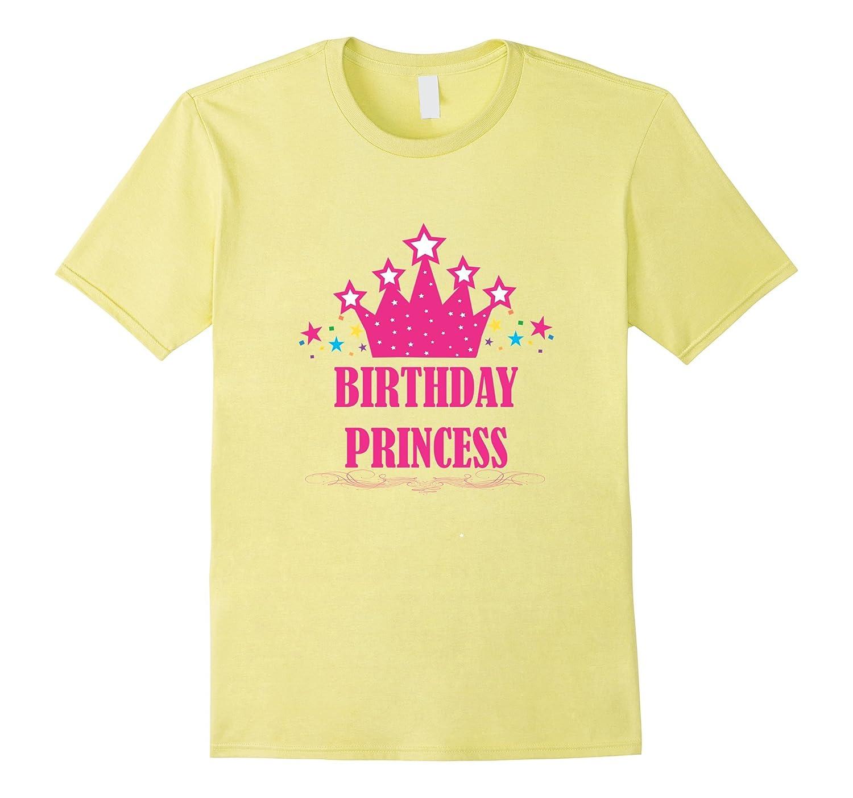 Birthday Princess Shirt For Girls Toddler Women Cupcake