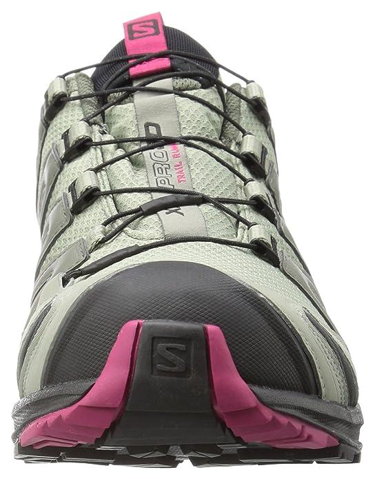 Salomon XA Pro 3D GTX, Zapatillas de Trail Running para Mujer, Gris (Shadow/Black/Sangria), 36 2/3 EU: Salomon: Amazon.es: Zapatos y complementos
