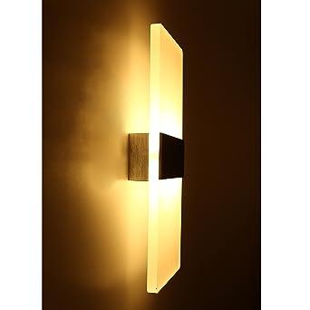 Topmo 12W Warmweiße Wandlampe LED Wandleuchten ideal für ...