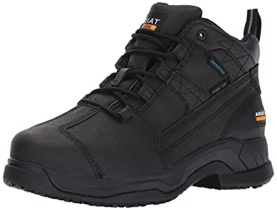 Work Women's Contender H2O Work Boot Matte Black 10 C US