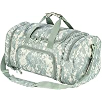 PANS Military Waterproof Duffel Bag Tactical Outdoor Gym Bag Army Carry On Bag with Shoes Compartment,Molle System…