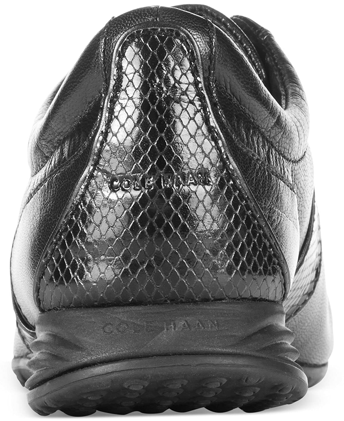 Cole Haan Womens Bria Grand Sneaker Beige//Snake Print Oxford /…