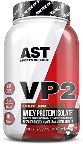 VP2 Whey Isolate Double Rich Chocolate – AST Sports Science – Science Backed Protein Formula