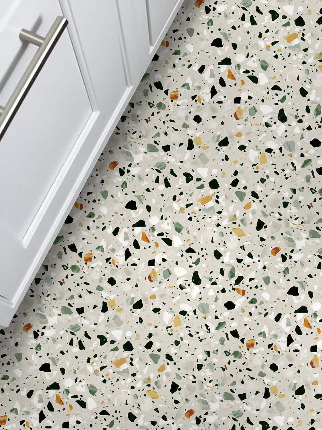 Amazon Com Amazing Wall Self Adhesive Terrazzo Floor