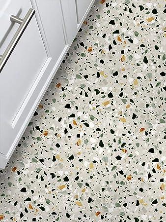 Amazon Com Amazing Wall Self Adhesive Terrazzo Floor