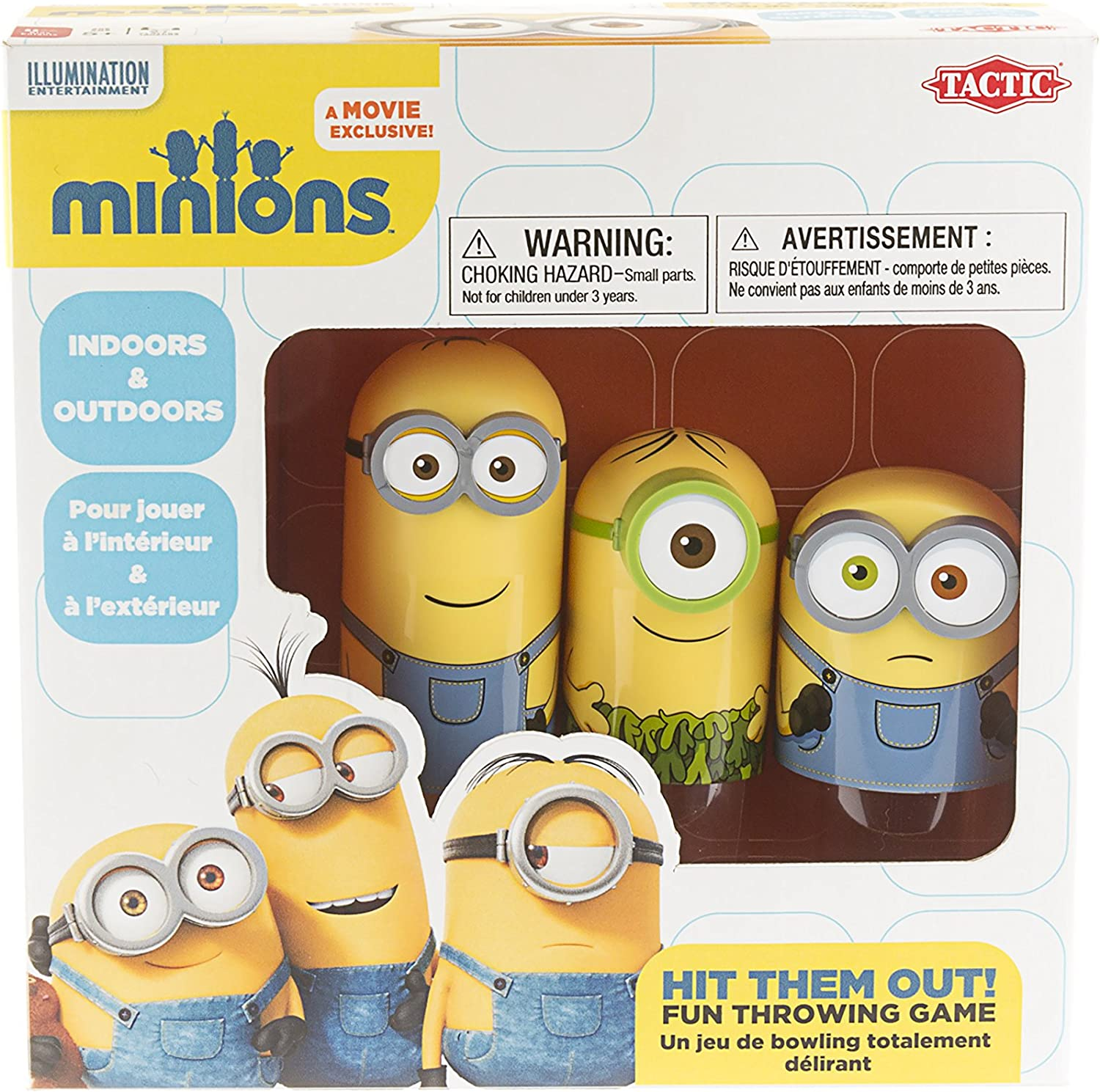 Tactic Games - Blos de Minions, Hit Them out: Amazon.es: Juguetes ...