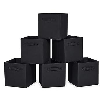 Amazon.com: Cajas de almacenaje plegables MaidMAX, juego de ...