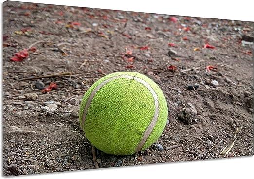 Pelota de tenis bola Fils goma Grava Tierra Arena Lienzo Póster ...
