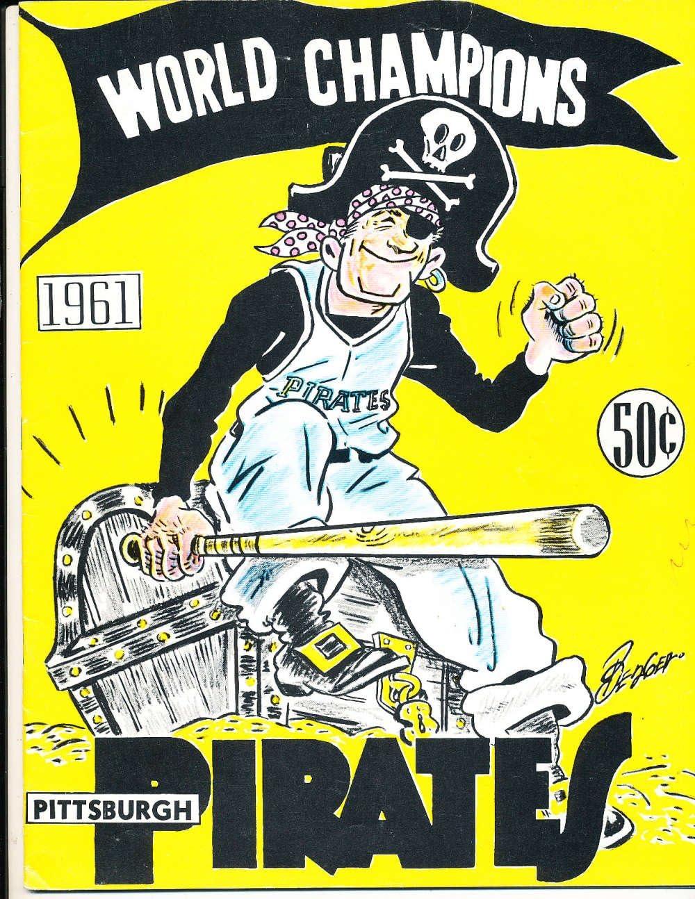 1961 Baltimore Orioles em  Yearbook  yb6