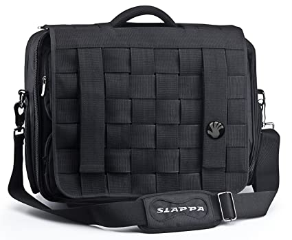 b382bcdf8fe7 Image Unavailable. Image not available for. Color  SLAPPA KIKEN Jedi  Checkpoint Friendly 18 inch Gaming   Travel Laptop Bag ...