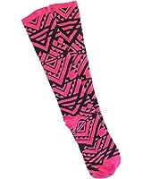 Victoria's Secret Pink Knee High Socks Hot Pink Aztec One Size
