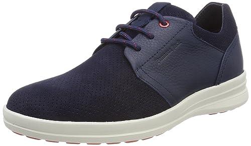 Titan, Zapatos de Cordones Oxford para Hombre, Marrón (Cuero), 46 EU Panama Jack