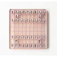 アクリル製 ミニ将棋盤セット ポップ デザイン インテリア アクリル 将棋