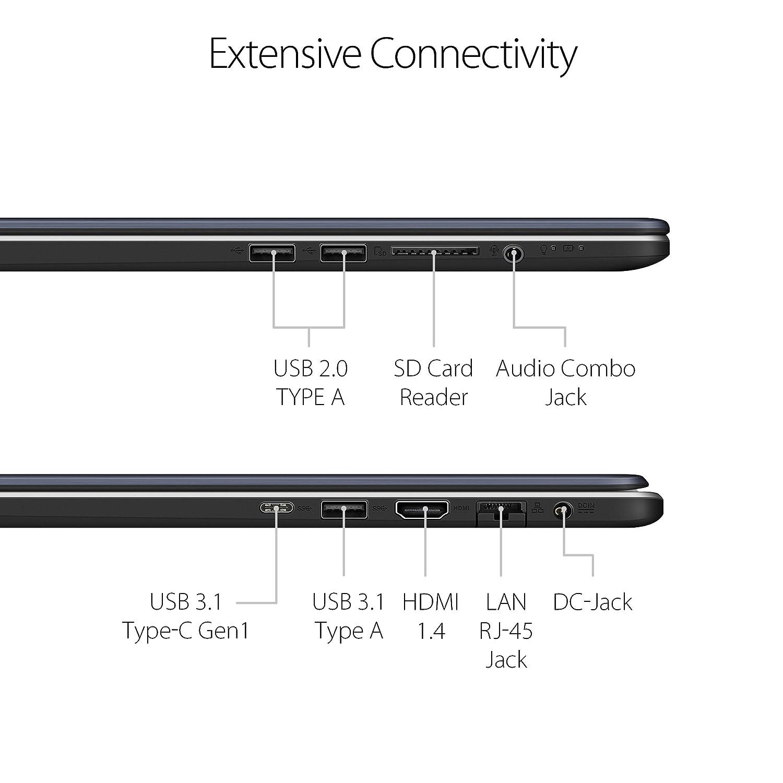 ASUS VivoBook Pro Thin  Light Laptop 173 Full HD Intel i78550U 16GB DDR4 RAM 256GB M2 SSD  1TB HDD