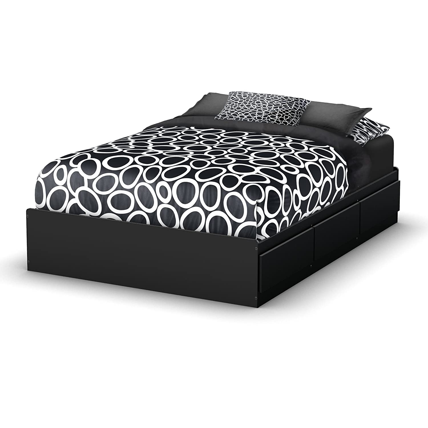 Amazon South Shore Storage Full Bed Collection Inch Full