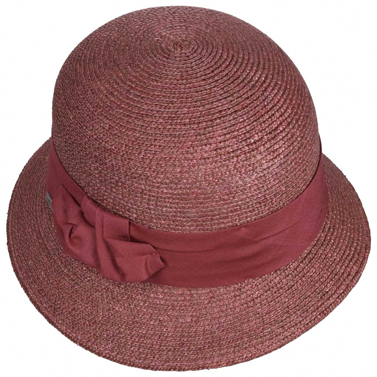 ea4c6332c2e Maria Braided Cloche Hat Seeberger straw hats cloche hat (One Size -  oldrose)  Amazon.co.uk  Clothing
