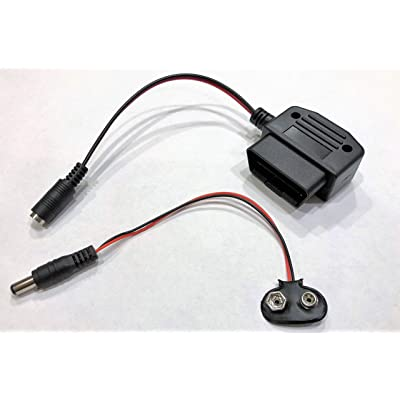 OBD ll Connector Vehicle Memory Saver Reliable and Easy 9 Volt Battery Powered: Automotive