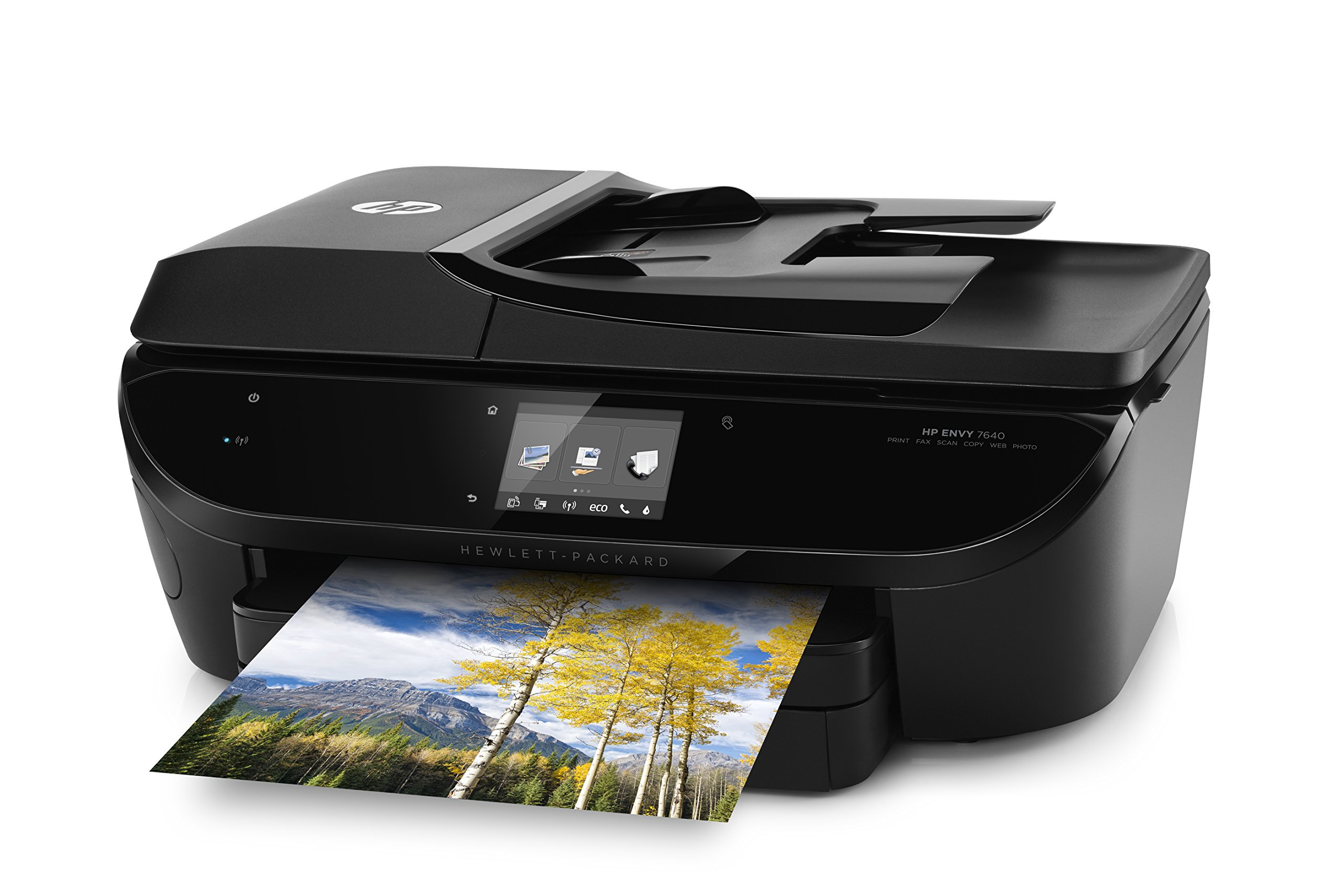HP Envy 7640 Wireless All-in-One Photo Printer with Mobile Printing, Instant Ink ready (E4W43A) by HP (Image #4)