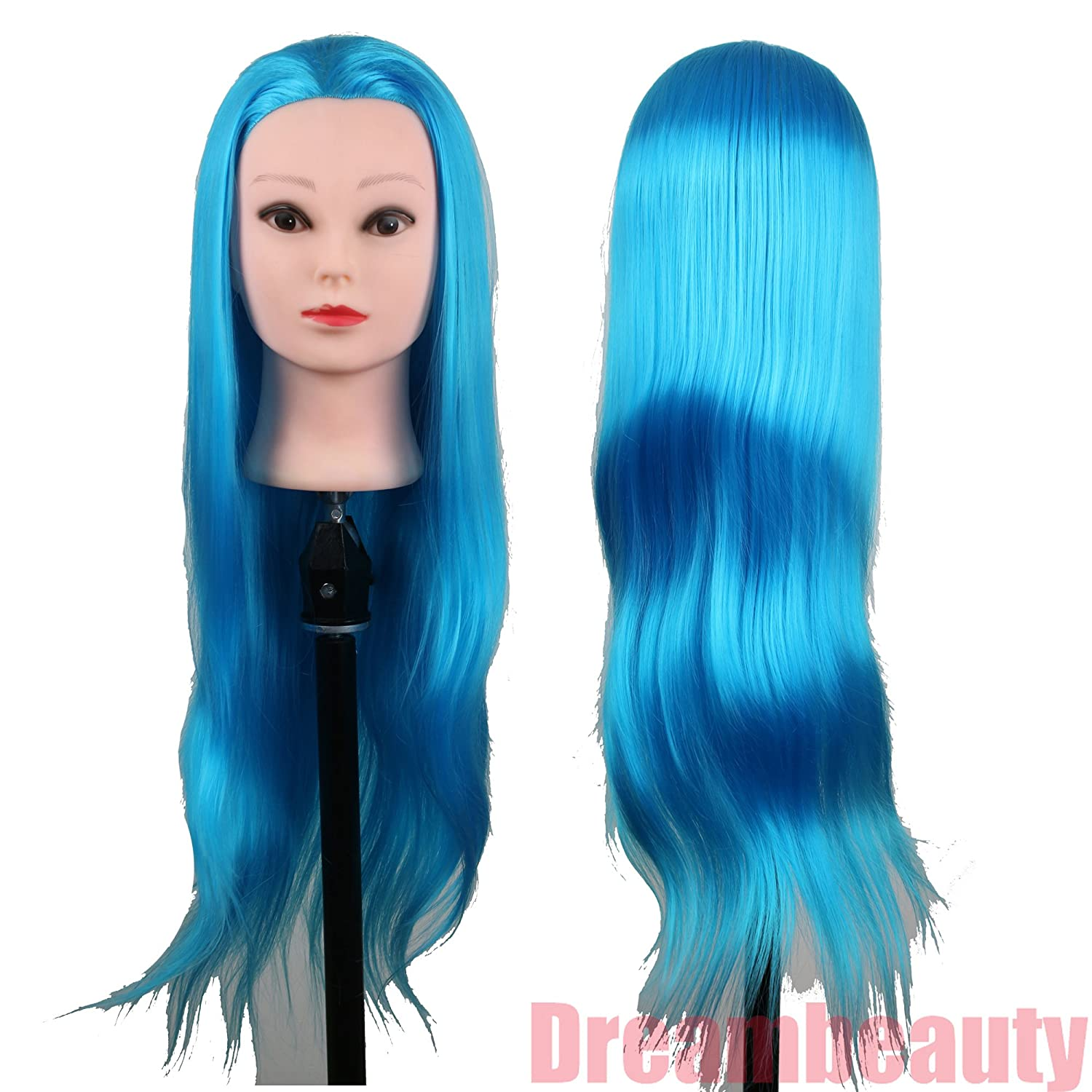 Dreambeauty Cosmetology School Practicing and Training Synthetic Manikin Green Color 28inch Qingdao Feiyang Hair Co. Ltd