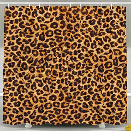 Image Unavailable Not Available For Color Leopard Print Shower Curtain