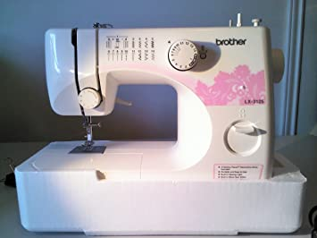 Brother LX-3125E Eléctrico - Máquina de Coser (Blanco, Costura, Paso 4, Giratorio, 900 RPM, 6 Puntos): Amazon.es: Hogar