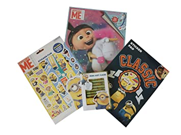 Despicable Me Sticker Paradise Childrens Activity Gift Stocking Filler