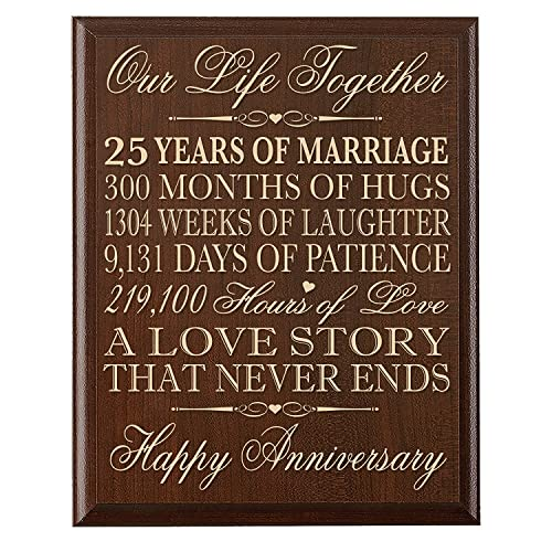 Silver Wedding Anniversary Gifts For Him: 25th Silver Wedding Anniversary Gifts: Amazon.com