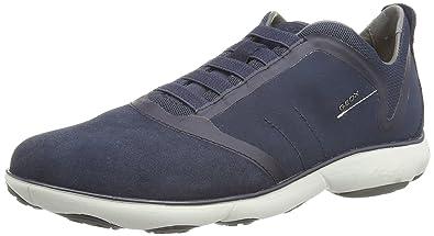 SneakerBlaumarineblau NebulaHerren Geox Geox Knöchelfreie U w0k8OnP