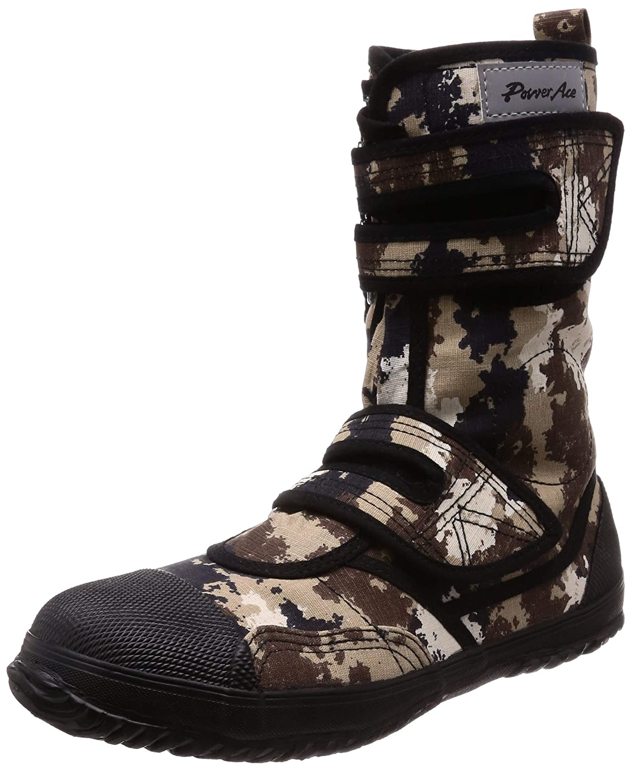 aaa6235685a Japanese Tabi Power Ace High Guard Steel Toe Camouflage Desert Tactical  Boots