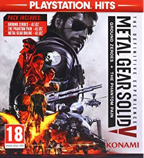 Metal Gear Solid V: The Definitive Experience (PS4): Amazon co uk