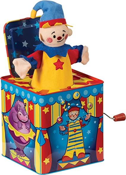 Silly Circus Musical Clown In The Box: Amazon.es: Juguetes y juegos