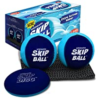 The Ultimate Skip Ball – Water Bouncing Ball (2 Pack) – Don't Skip on The Fun, Create Ultimate Memories with Your Family…