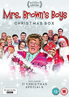 mrs browns boys christmas box dvd 2017