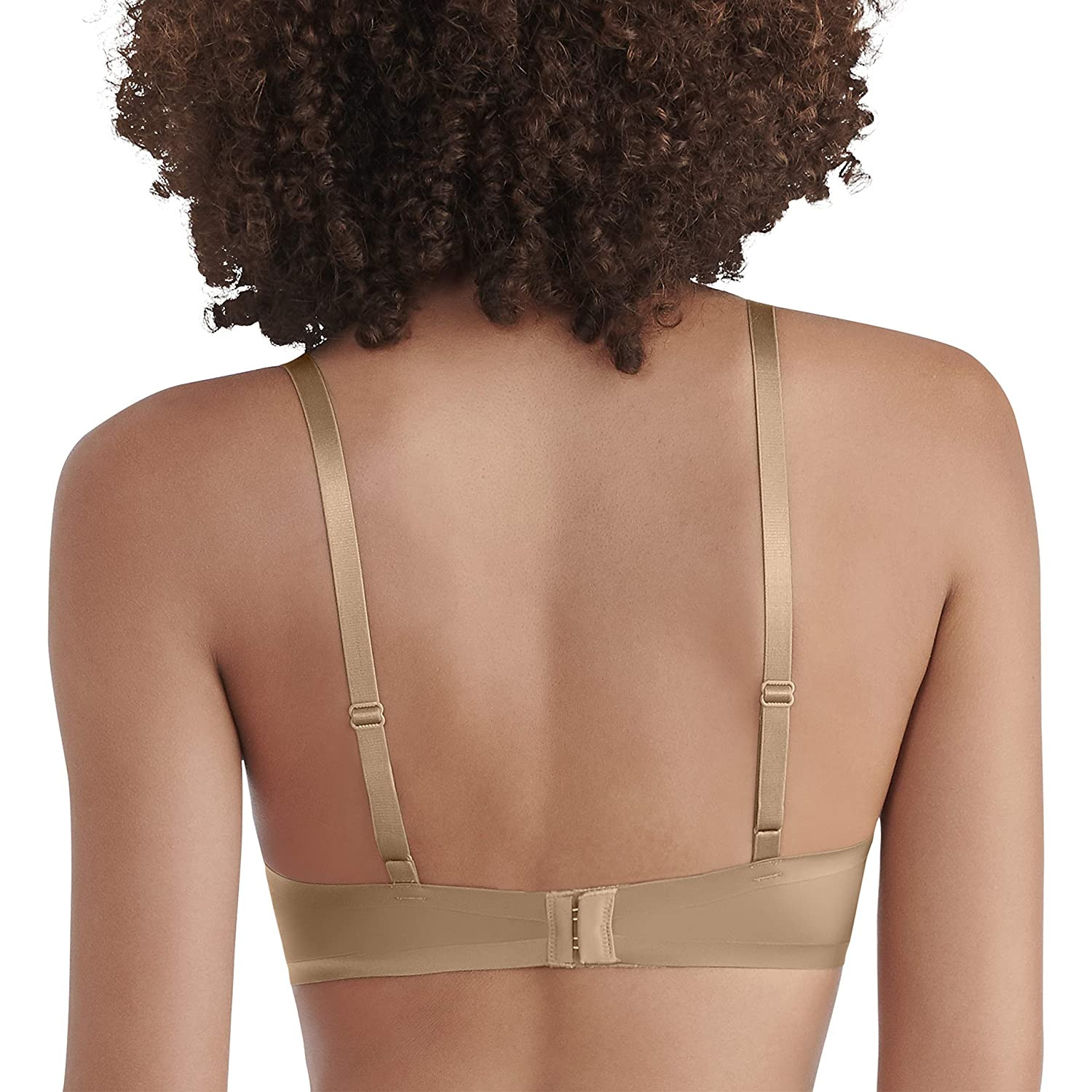 Vanity Fair Womens Nearly Invisible Full Coverage Underwire Bra 75201