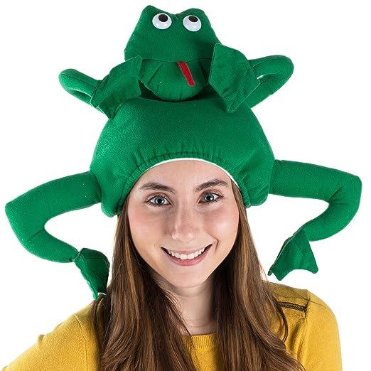 3f742b3f741 Amazon.com  Tigerdoe Frog Costume Hat - Animal Hats - Novelty Hats - Frog  Costume - Frog Costume Accessories  Clothing