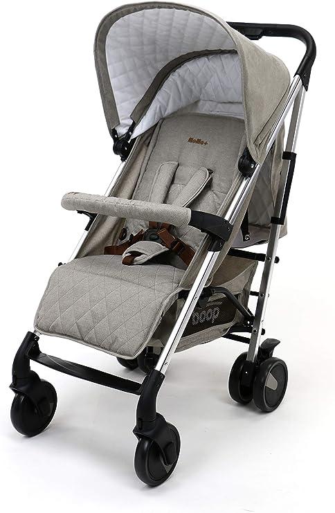 Asalvo - Silla de paseo Moma Plus, Color Beige: Amazon.es: Bebé