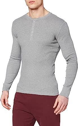 Levis Levis 300ls Long Sleeve Henley 1p Camiseta de Tirantes para Hombre