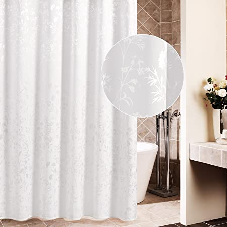 CAMAL Shower Curtains Waterproof Polyester Fabric Shower Curtain