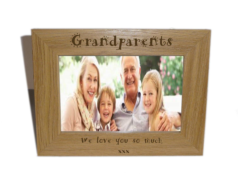 Großeltern Holz Bilderrahmen 6 x 4 – Personalisieren dieser Rahmen ...