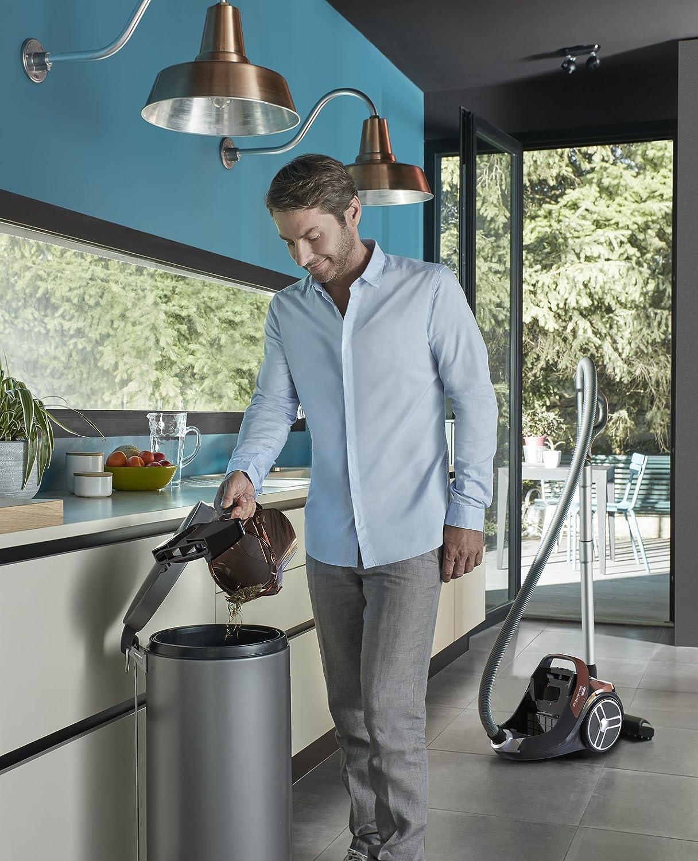 Rowenta X-Trem Power Cyclonic RO7244EA Aspirador sin bolsa,sistema ciclónico de filtrado, apto para todo tipo de suelos, diseño compacto y depósito de 2,5 L y accesorios para coche, fácil vaciado: 161.29: Amazon.es: