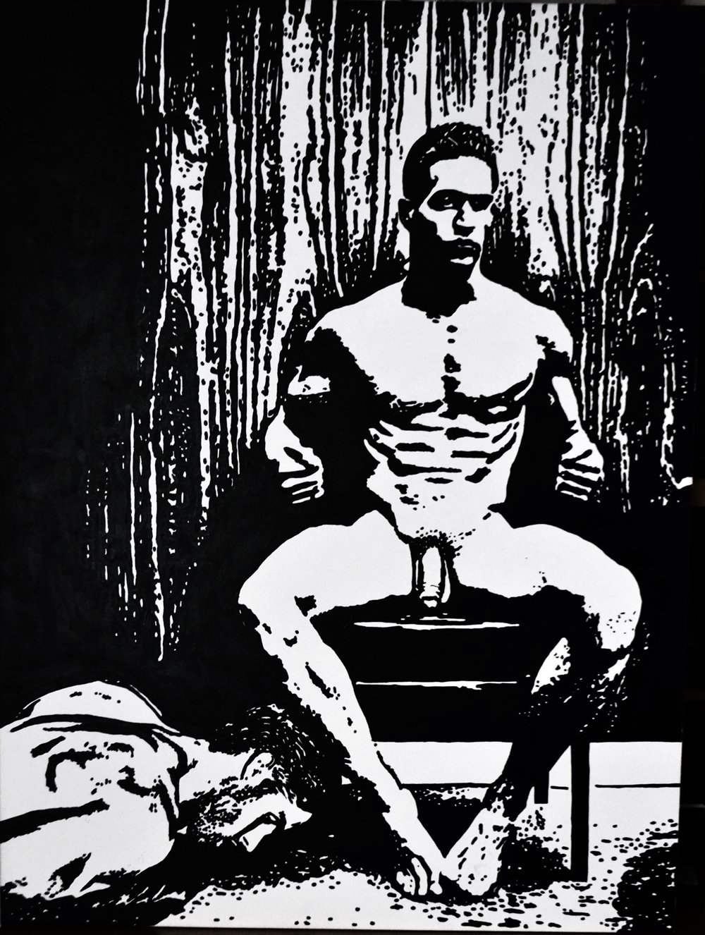 Male Nude Series Nude #80 The Dominant Man ~ Open Edition Art Print