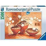 Ravensburger - 16392 - Puzzle Classique - Magnolia Blanc - 1500 Pièces