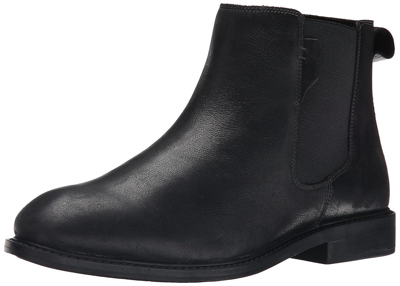 Black Dunham Men's Graham-dun Chelsea Boot