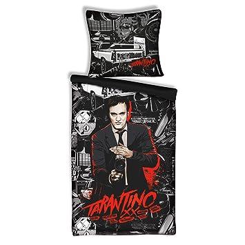 Quentin Tarantino Bettwäsche Pulp Fiction Kult Regisseur Bett Bezug