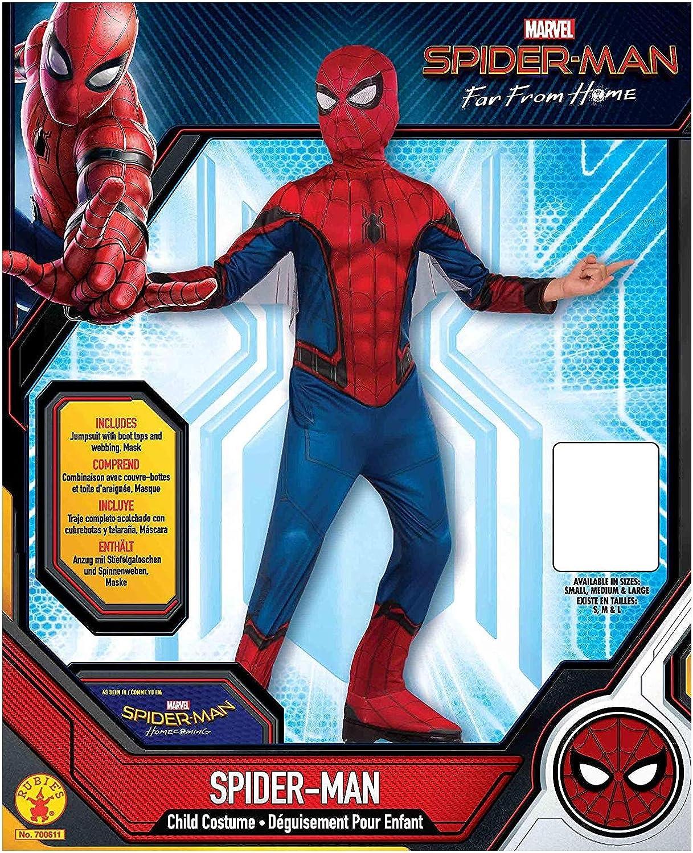 Amazon.com: Rubies Marvel Spider-Man - Disfraz de Spider ...