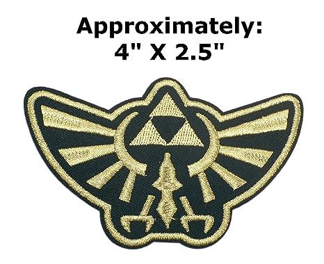 La Leyenda de Zelda Hyrule Royal oro escudo 4