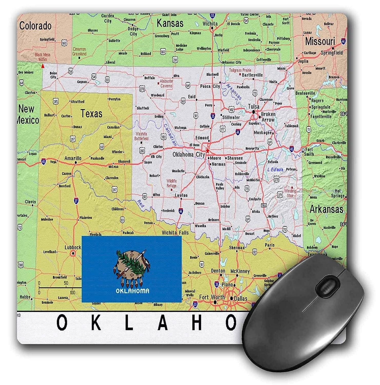 Topographic Map Oklahoma.Amazon Com 3drose Lens Art By Florene Topo Maps Flags Of States