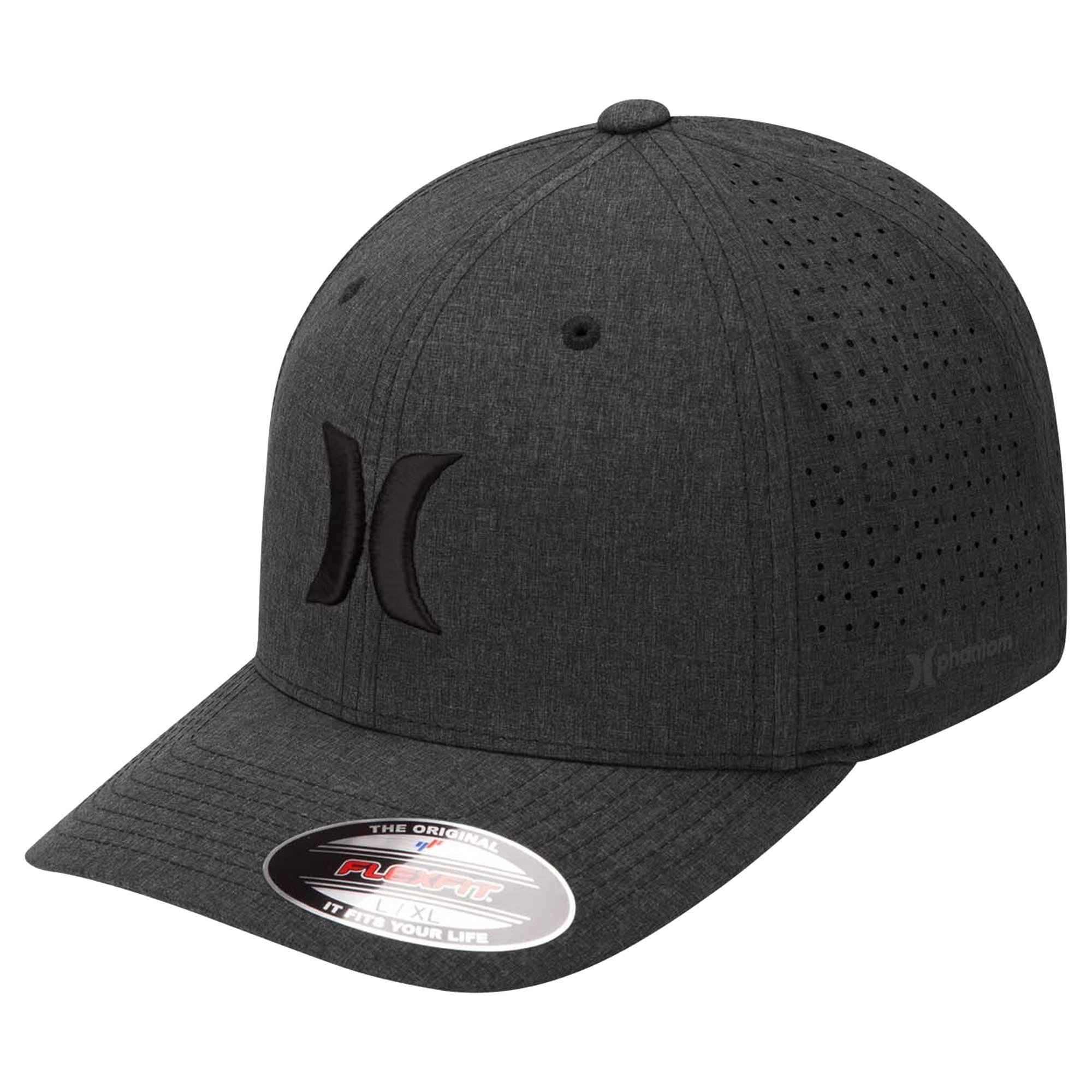 Hurley Mens Phantom 4 0 Cap L/XL Black