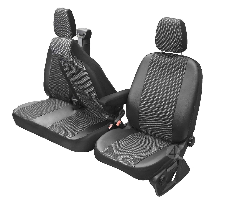 1+2 4D-DV-VI-OR3M-SC-426 Erste Reihe Sitzbez/üge Viva passgenau geeignet f/ür Nissan NV400 2010-2+1